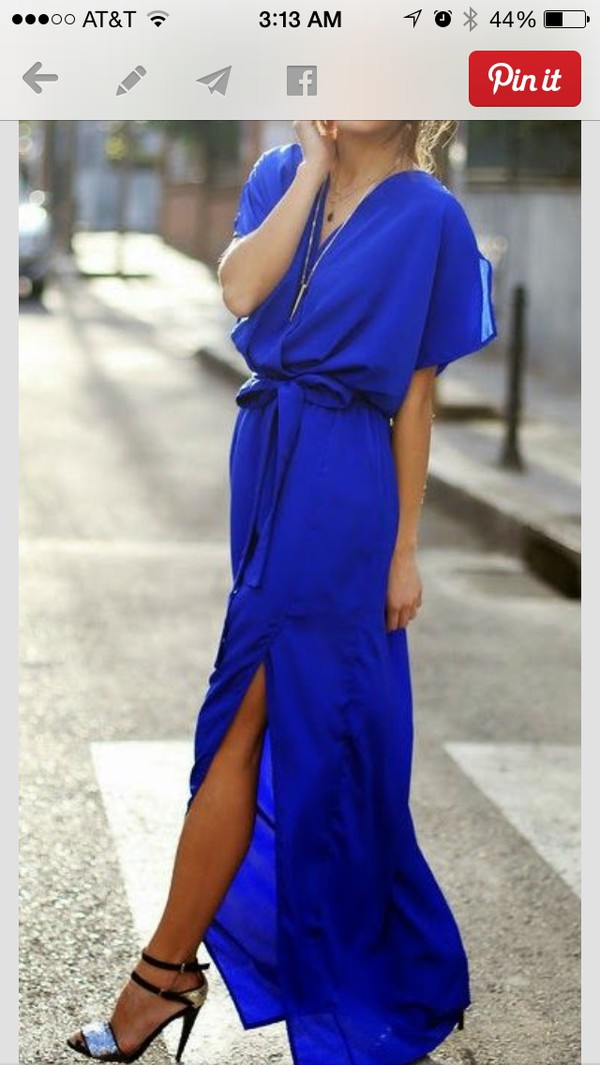 blue dress dress blue maxi dress