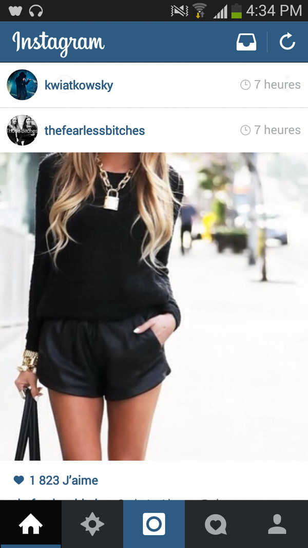 shorts jewels haute & rebellious