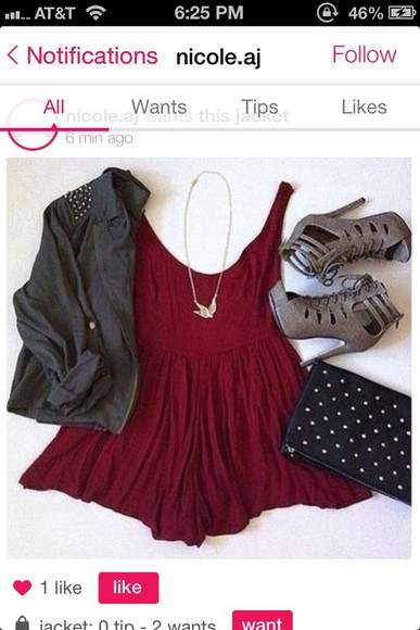 dress red dress cute red fit and flare shoes