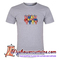 Lazy colorful bear t shirt