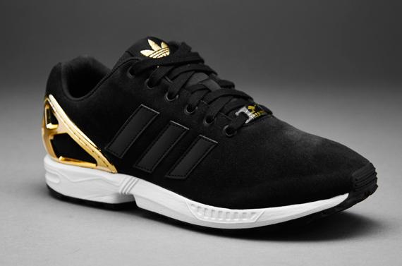 56ba16484 Womens Shoes - adidas Originals Womens ZX Flux - Core Black ...