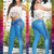 Brightly Colored Tabbachi Jeans 7093 | Yallure