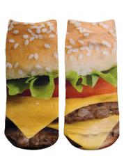 Cheeseburger Socks – Living Royal