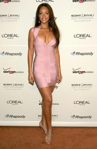 dress herve leger bandage dress pink pink dress sexy party dresses home accessory dreamcatcher feathers boho hipster beach house our favorite home decor 2015