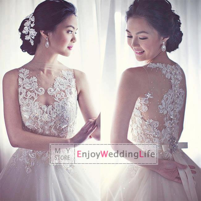 Discount a line layered wedding dresses applique beaded court online with $162.54/piece