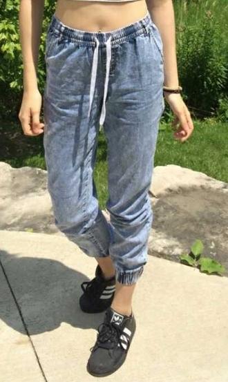 pants jeans sweatpants jersey