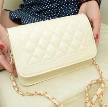 Free shipping 2013 women Designer Handbag Clutch Ladies Shoulder bag Fashion Bags Quilting Chain Cross bag drop shipping A70 218-in Clutches from Luggage & Bags on Aliexpress.com