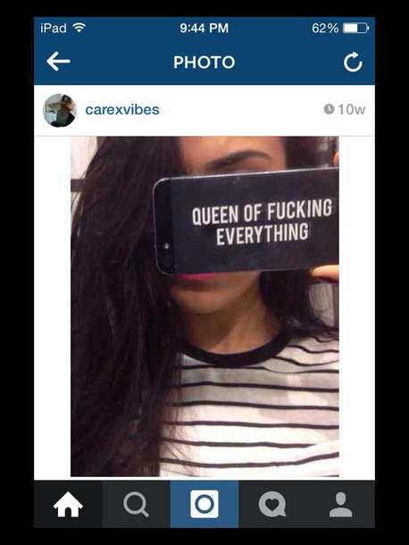 phone cover iphone case queen bitch iphone 5s selfie