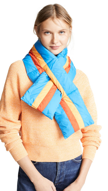 KULE The Seever Scarf in blue