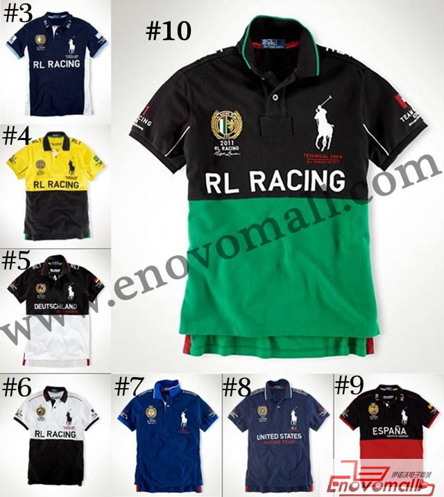 POLO New Mens Short T shirts Car Racing Series Sport leisure SHIRTS Clothes_Polo_Men|Homme Clothing_Apparel&Accessories_Wholesale - Buy China Electronics Wholesale Products from enovomall.com