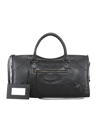 Balenciaga Classic Part Time Bag, Black - Neiman Marcus