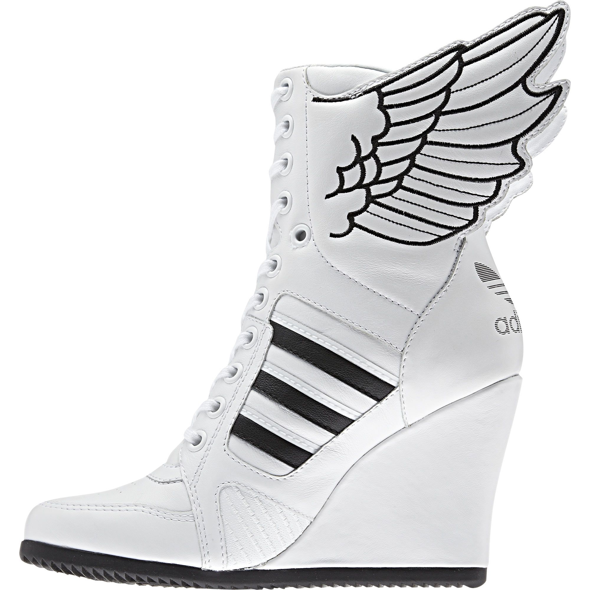timeless design 1d6a1 34a46 jeremy scott adidas wedges