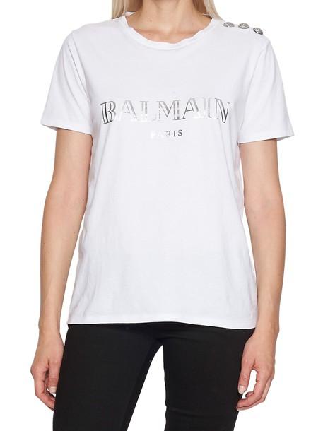 Balmain t-shirt shirt t-shirt white top