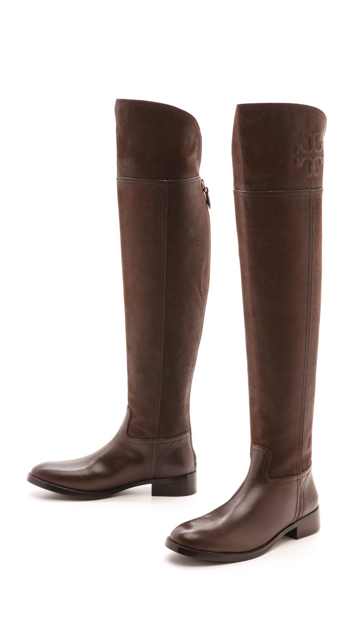 91c396422d91 Tory Burch Simone Over the Knee Flat Boots