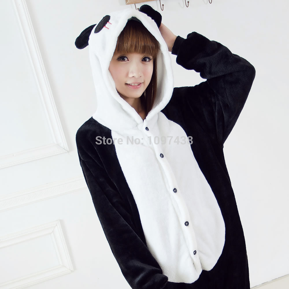 adult animal footed pajamas onesie autumn winter adult home suit ...