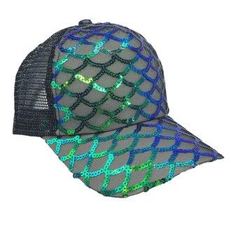 hat mermaid trucker hat mermaid hat mermaid sequin hat mesh baseball hat mermaid baseball cap bling hat
