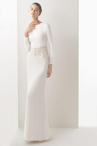wedding dress butterfly long sleeve dress
