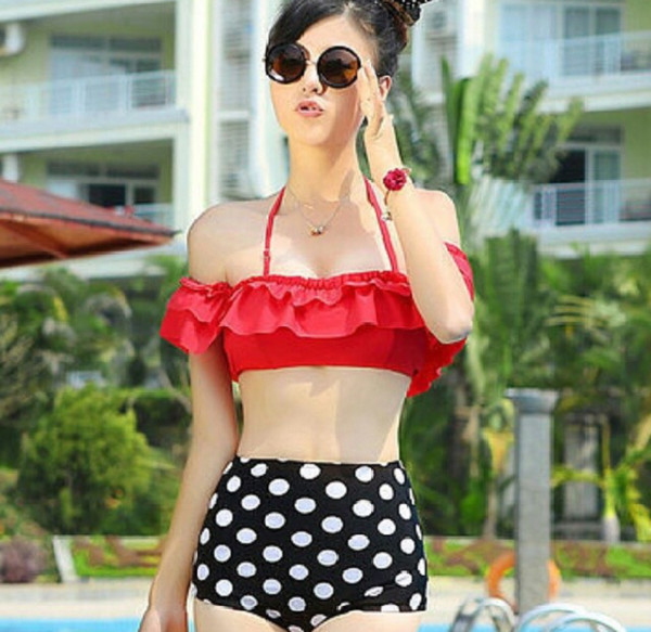 swimwear bikini mickey mouse