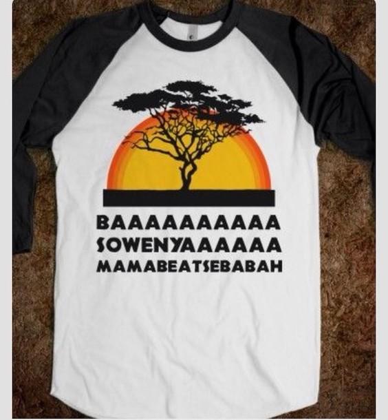 7397404b shirt cheetos lion king vintage summer cute yasss blouse hakuna matata  white black t-shirt
