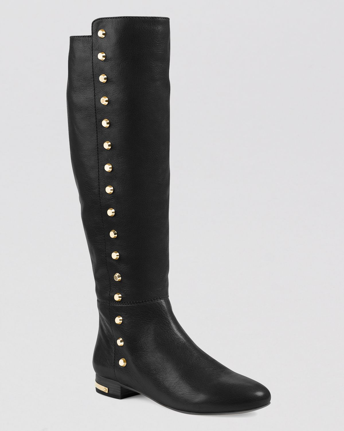 MICHAEL Michael Kors Flat Tall Boots - Ailee Studded | Bloomingdale's