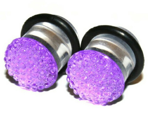 jewels ear plug guages