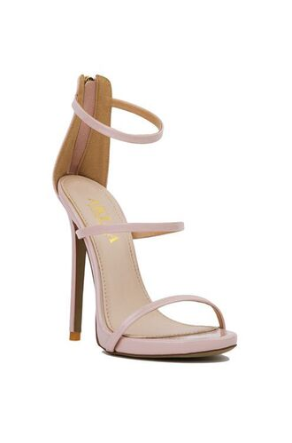 shoes prom shoes blush pink sandals sandals sandal heels high heel sandals