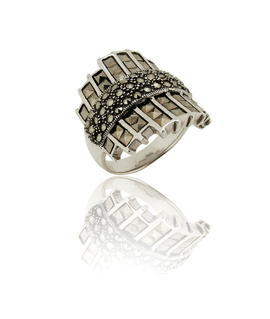 Empress Silver Ring | Silver Jewellery | BOHEM