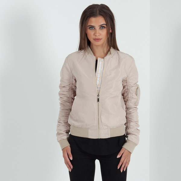 Beige bomber jacket ladies – Your jacket photo blog