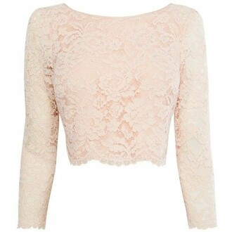 top lace crop tops blush pink dressy blouse pink long sleeve crop top blush long sleeves lace top