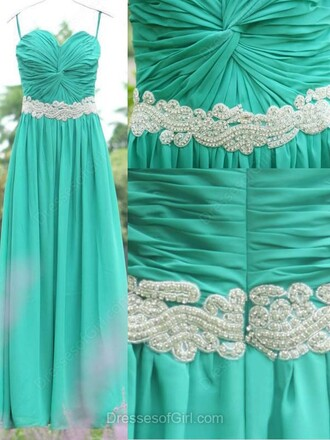 dress prom prom dress fashion style maxi maxi dress floor length dress long long dress love pretty lovely belt sweet sweetheart dress mint turquoise mint dress crystal bridesmaid dressofgirl special occasion dress