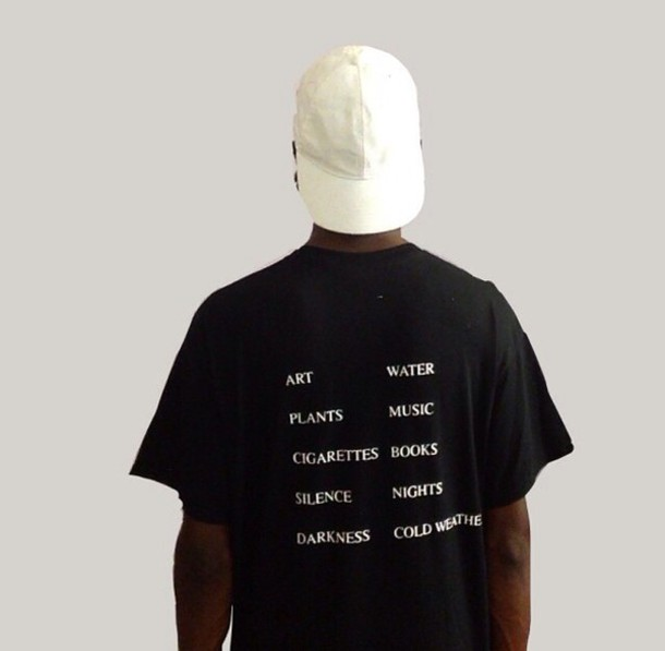 t-shirt black quote on it quote on it mens t-shirt white art water plants music cigarette book silence nights darkness winter outfits cold weather