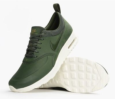 f244bba5d8 Nike Air Max Thea PRM 616723 304 Green White Women's Shoes 10 or 12 | eBay