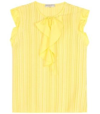 top cotton yellow