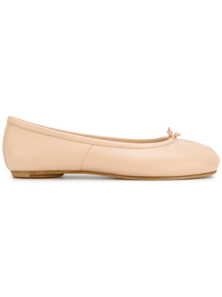 MAISON MARGIELA women shoes leather nude