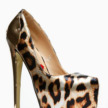 Red Kiss Metallic Leopard Print Platform Pumps @ Cicihot Heel Shoes online store sales:Stiletto Heel Shoes,High Heel Pumps,Womens High Heel Shoes,Prom Shoes,Summer Shoes,Spring Shoes,Spool Heel,Womens Dress Shoes,Prom Heels,Prom Pumps,High Heel Sandals on Wanelo