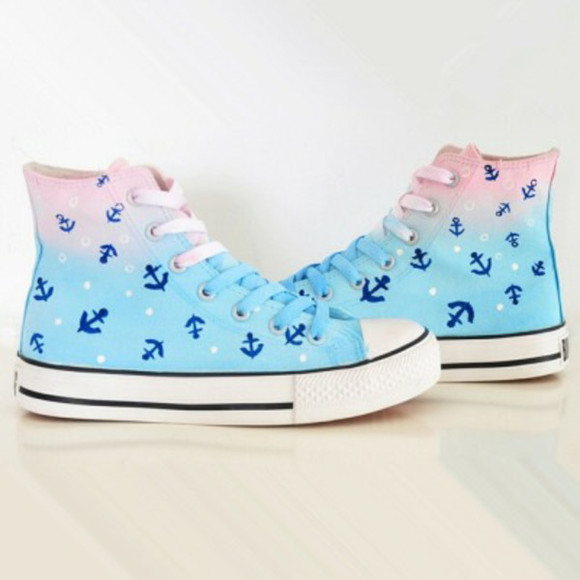 anchor chuck taylor all stars