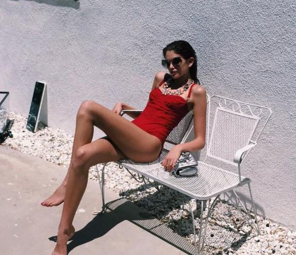 Kaia Gerber Bikini May 2017