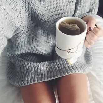 sweater grey big cosy need help