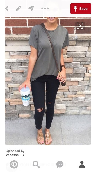 jeans black ripped high waisted
