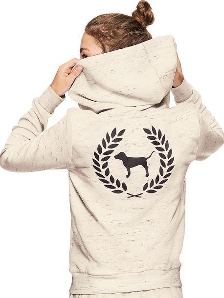 sweater pink by victorias secret victoria's secret hoodie comfy sweater weather women fashion streetwear streetstyle hood