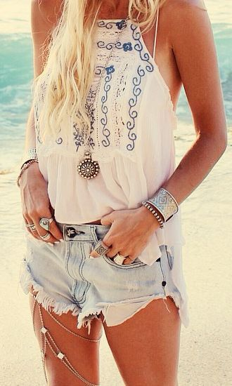 top white white embroidered white peasant tank top shirt summer summer tank boho boho top hippie hippie top hippie shirt beach beach top beach tank embroidered tank blue embroidered summer top summer outfits boho chic boho shirt hippie chic halter top halter neck
