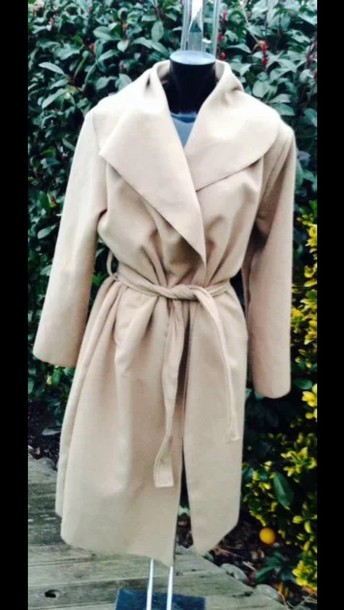 coat camel trench coat