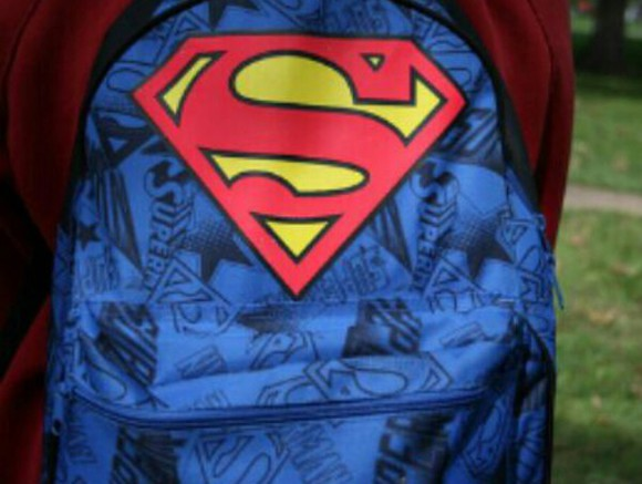 bag backpack superman