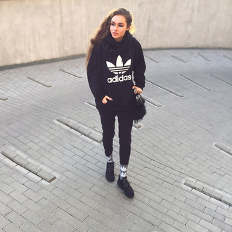 paulitta . japanese fly blogger adidas sweater adidas originals