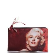 bag,marilyn monroe,monroe,ziziztime,cosmetic bag,cosmetic case