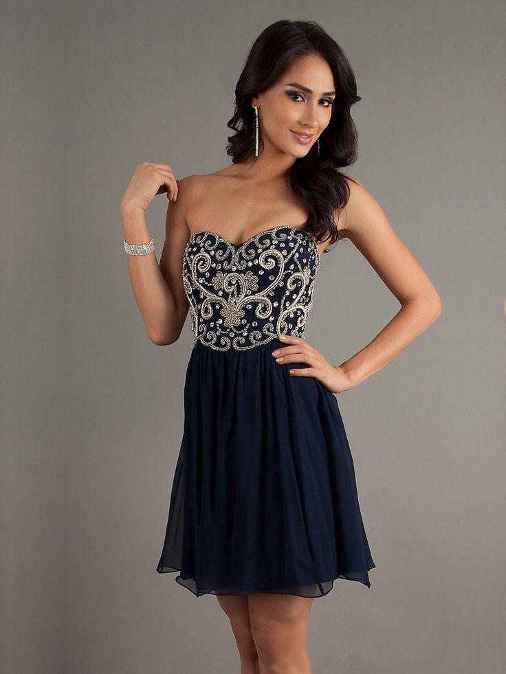 Line sweetheart mini homecoming dress, short homecoming dress, short prom dress 2015