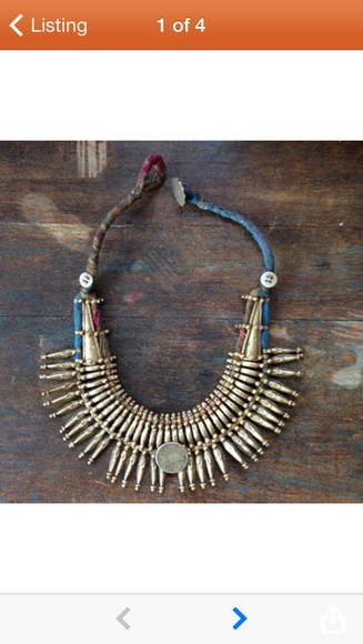 aztec boho jewels boho chic gypsy gypsy one gold tribal pattern necklace