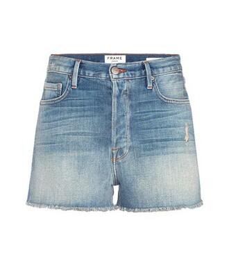 shorts denim shorts distressed denim shorts denim blue
