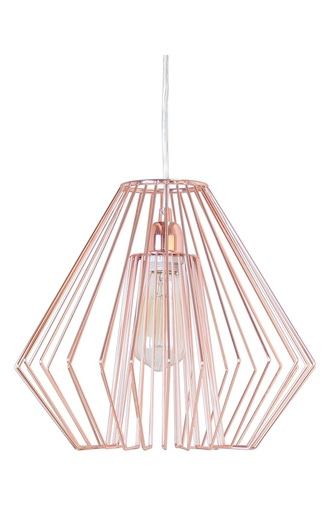home accessory rose gold copper lighting bedroom