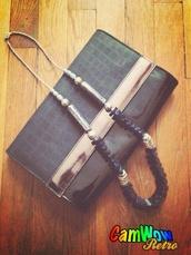 bag,black pouch